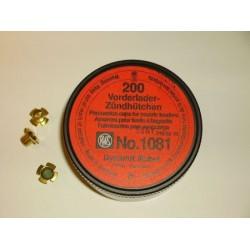 Amorces RWS poudre noir 1081