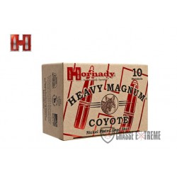 CHEVROTINES HORNADY CAL 12/76 2/0 BUCKSHOT NICKELÉ HEAVY MAGNUM COYOTE