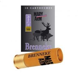 Mary arm balles Brenneke cal 20/67