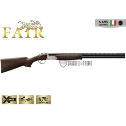 Fusil Superposé Fair Classic Ergal Extracteur Silver 12/76 Canon 66