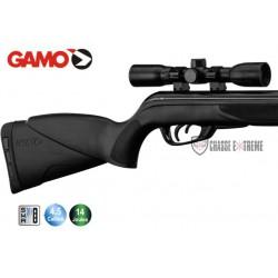 Carabine Gamo Black Shadow Cambo 14 joules avec lunette 4x32 + boîte de plombs Pro Magnum