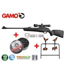 Carabine Gamo Shadow DX 19,9 Joules avec lunette 3-9 x 40 + Plinking + 1 boîte de plombs Match
