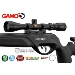 Carabine Gamo Socom Maxxim 19,9 joules + lunette 3-9 x 40 WR