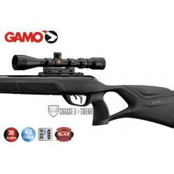 Carabine Gamo MAGNUM 1250 36 joules + Lunette 3-9 x 40 WR + Cible + boîte de plombs