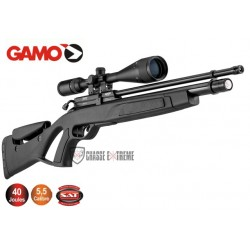 Pack Carabine GAMO COYOTE Tactical PCP Synthétique 40 Joules