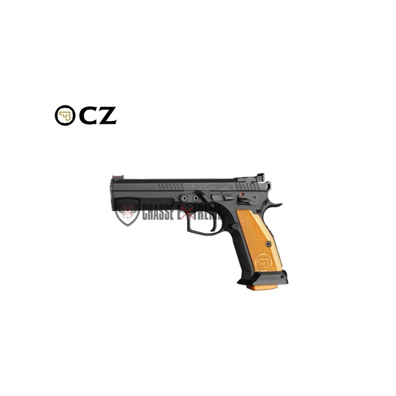 PISTOLET CZ 75 TS ORANGE