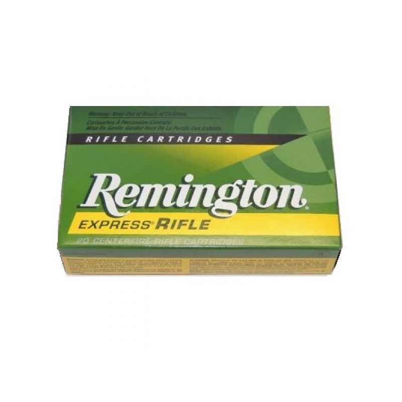 Munitions remington calibre 9.3x62 PSP 285 grains