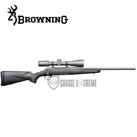 CARABINE BROWNING X-BOLT PRO CARBON FLUTED CERAKOTE THREADED