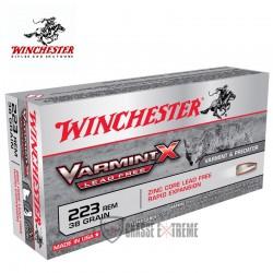 20 MUNITIONS WINCHESTER VARMINT X LEAD FREE 223REM 38GR