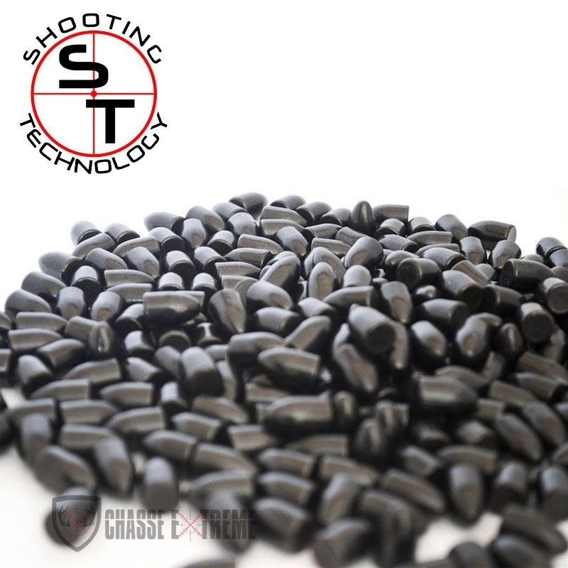 1000 OGIVES SHOOTING TECHNOLOGY BLACK ICE 220 MICRONS CAL 9MM 124GR TC