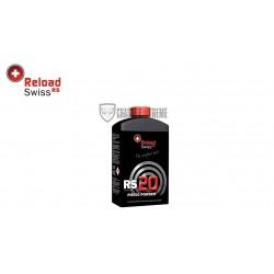 POUDRE RELOAD SWISS RS20 BIDON DE 500G