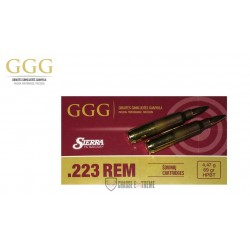 20 MUNITIONS GGG 69 GR CAL 223 REM HPBT