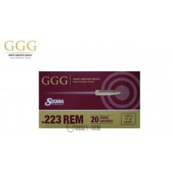 20 MUNITIONS GGG 77 GR CAL 223 REM HPBT