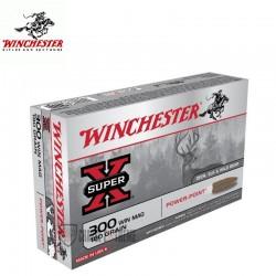 MUNITIONS WINCHESTER 300 WM POWER POINT 180 GRAINS