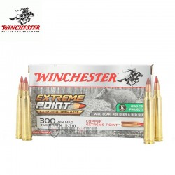 MUNITIONS WINCHESTER 300 WM EXTREME POINT LEAD FREE 150 GRAINS