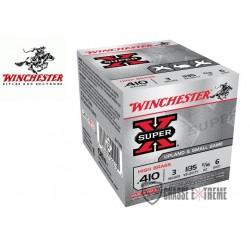 CARTOUCHES WINCHESTER SUPER-X 19.5 GR CAL 410/76