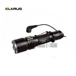 LAMPE TACTIQUE KLARUS RECHARGEABLE XT12S LED - 1600 LUMENS