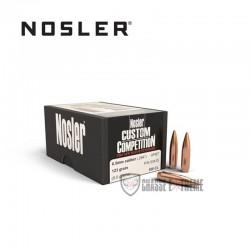 100 OGIVES NOSLER HPBT CAL 6.5MM 123 GR