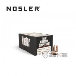 100 OGIVES NOSLER HPBT CAL 224 52 GR