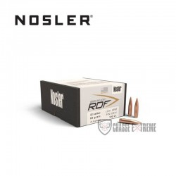 100 OGIVES NOSLER RDF HPBT CAL.22 85 GR