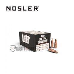100 OGIVES NOSLER HPBT CAL.30 155 GR