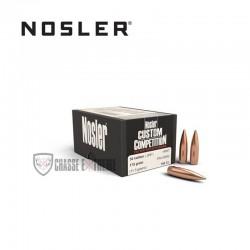 100 OGIVES NOSLER HPBT CAL.30 175 GR
