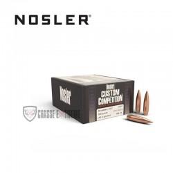 100 OGIVES NOSLER HPBT CAL.30 190 GR