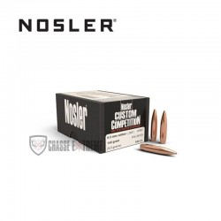 100 OGIVES NOSLER HPBT CAL.6.5MM 140 GR
