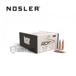 100 OGIVES NOSLER RDF HPBT CAL.6MM 105 GR