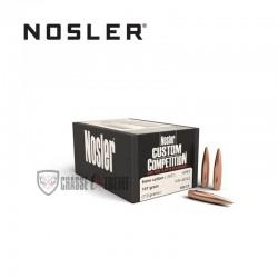 100 OGIVES NOSLER HPBT CAL.6MM 107 GR