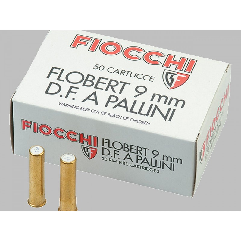 Balles Fiocchi double charge 9mm flobert