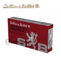 20 MUNITIONS S&B HPBT CAL 222 REM 52GR