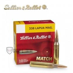 10 MUNITIONS S&B HPBT CAL 338 LAPUA MAG 250GR