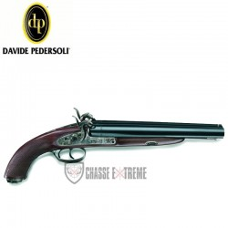 PISTOLET PEDERSOLI HOWDAH HUNTER À PERCUSSION CAL 58