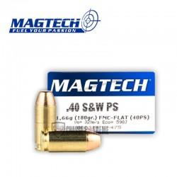 50 MUNITIONS MAGTECH CAL 40S&W 180GR FMJ FLAT PRACTICAL SHOOTING