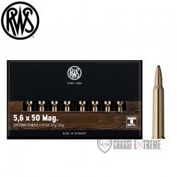 Munitions Rws calibre 5.6x50 Magnum TMS 63 grains