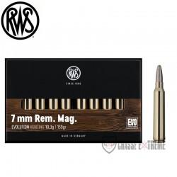 Balles RWS 7 Rem Mag EVO 10.3g boite de 20