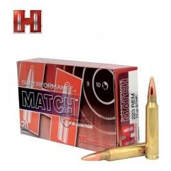 MUNITIONS HORNADY 223 REM 75 GRAINS BTHP SUPERFORMANCE® MATCH™