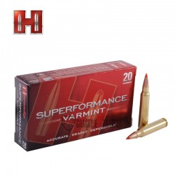 20 MUNITIONS HORNADY SUPERFORMANCE VARMINT 223 REM 53 GR V-MAX