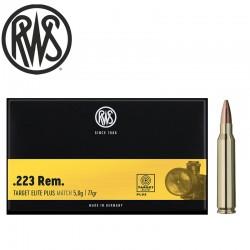 20 MUNIOTIONS RWS CAL 223 REM 77GR ELITE PLUS