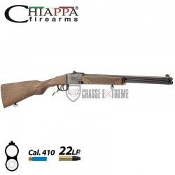 CARABINE CHIAPPA DOUBLE BADGER CAL 410 ET 22 LR
