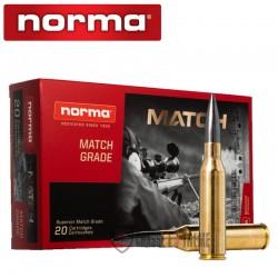 20 MUNITIONS NORMA CAL 338 LM-300GR SIERRA DIAMOND LINE MATCH