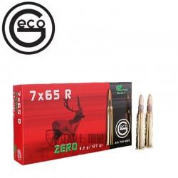 20 MUNITIONS GECO CAL 7x65R 127GR ZERO
