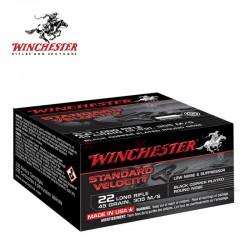 235 Munitions WINCHESTER STD Velocity cal 22lr 45gr Black CP LRN