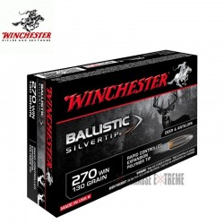Munitions winchester 270 win BALLISTIC SILVERTIP 130 grains