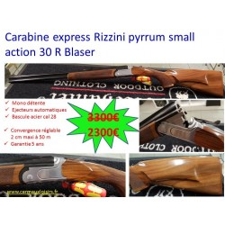 RIZZINI EXPRESS SUPERPOSE PYRIUM SMALL ACTION 30R BLASER