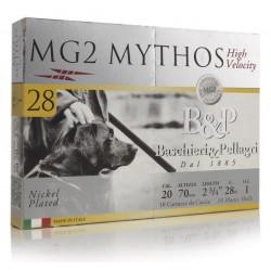 promo 100 cartouches MG2 Mythos 28 g cal 20 Pb5