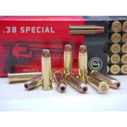 Munitions geco 38 special 158gr