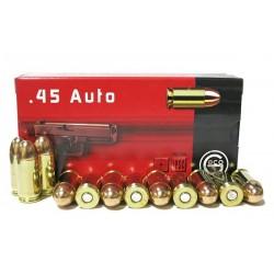 Munitions geco 45 ACP FMJ 14.9g/230gr