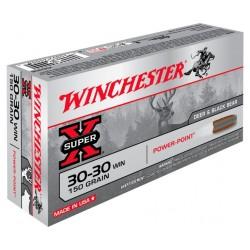 commande 20 boites de munitions winchester 30-30 WIN 150gr